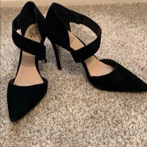 Vince Camuto Shoes - Vince Camuto black suede heels